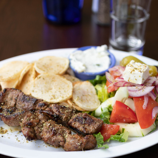 Yia Yia's Taverna Brooklyn Lamb Kebab with veggies .jpg