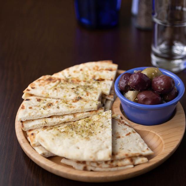 Pita and Olives .jpg