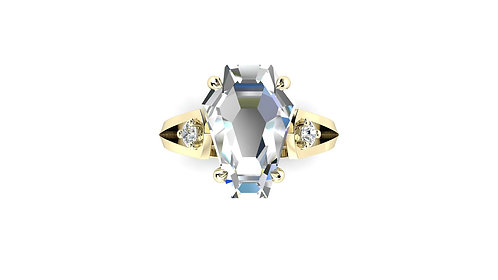 5ct Accent Ring