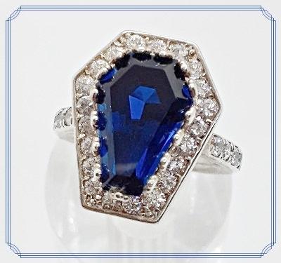 3ct Eternity Halo Ring