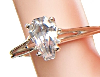 2ct Solitaire Ring - Size 7