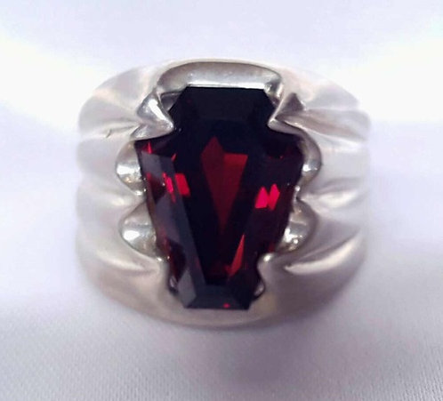 5ct Men's Fang Ring