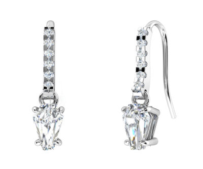 2ct Earrings - ACCENT DANGLE