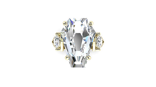 10ct Accent Ring