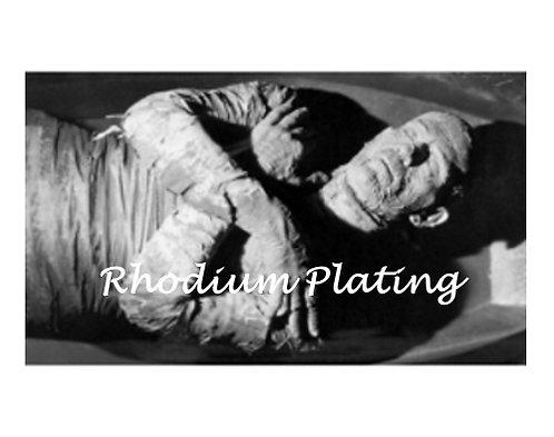 Rhodium Plating Service