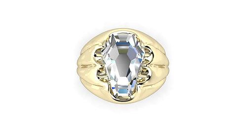 5ct Men's Fang Ring