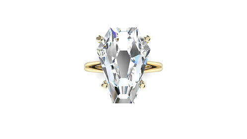 10ct Solitaire Ring