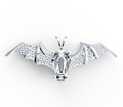 Batwing Pendant