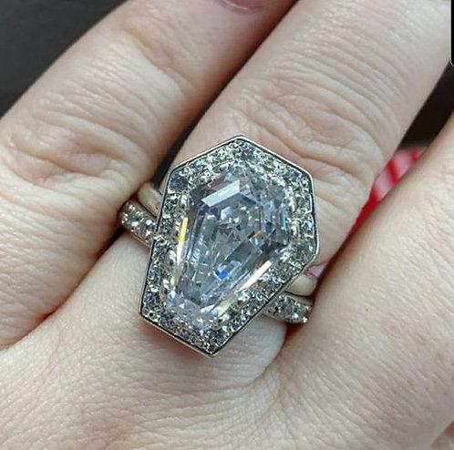 10ct Halo Ring