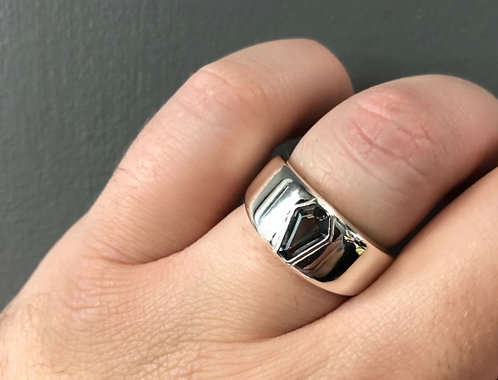 2ct Men's Bezel Band Ring