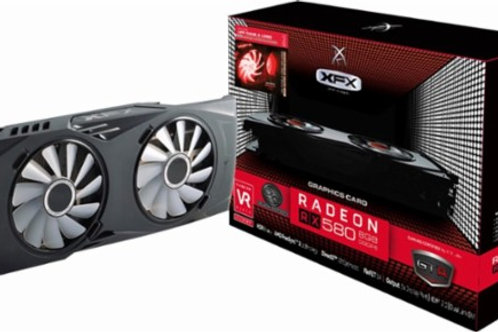 XFX - AMD Radeon RX 580 GTR Black Edition 8GB GDDR5 PCI Express 3.0 Graphics Car