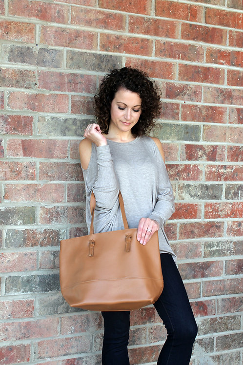 Leather Miller Tote