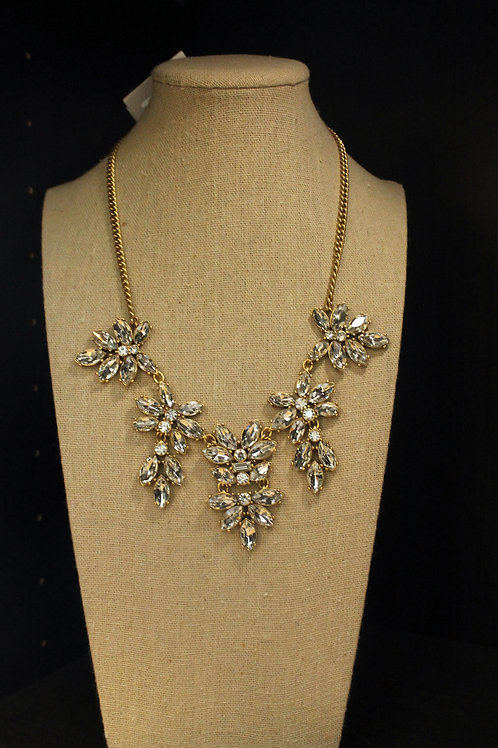 Crystal Dainty Victorian Necklace