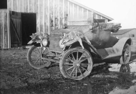Guy Nixon's Grandpa's Model T