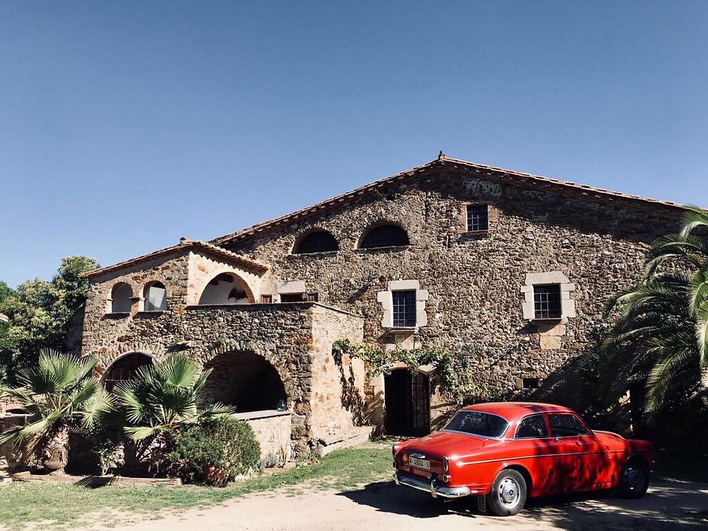 Masia in Catalonia, Spain