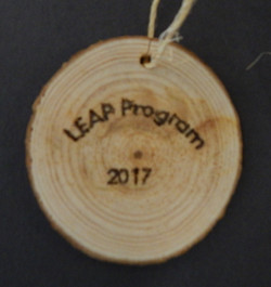 2017-2018 Holiday Ornament - Back