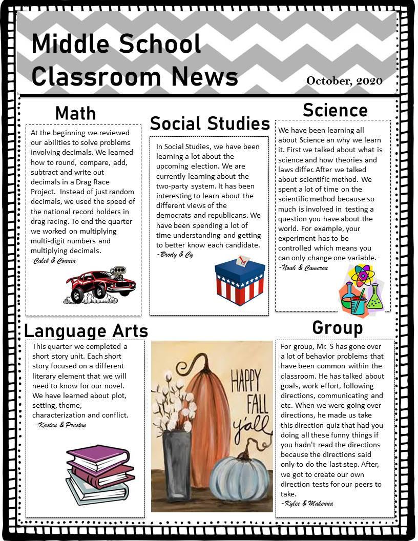 Aims Room 3 Classroom Newletter Qrt 1 (2