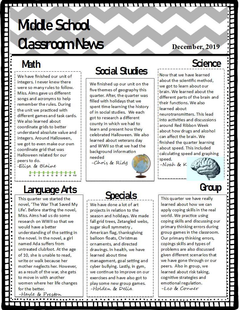 Classroom 3 Newletter Qrt 2 (2019-2020).
