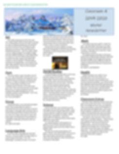 Classroom 4 Winter Newsletter 2019-2020.