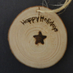 2017-2018 Holiday Ornament - Star