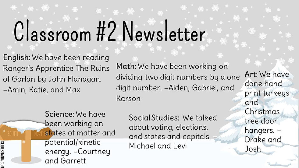 Berg room 2 Newsletter Quarter 2 2020 20