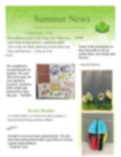 Classroom 4 Newsletter 4th Quarter River