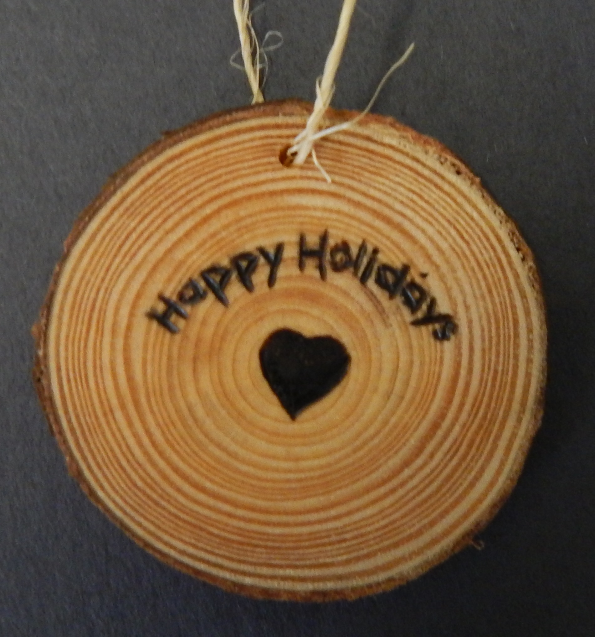 2017-2018 Holiday Ornament - Heart