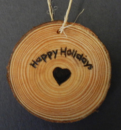 2017-2018 Holiday Ornament - Heart