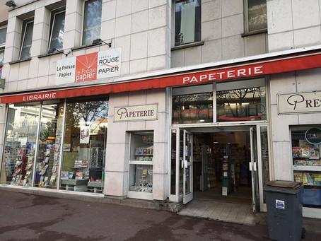 Nouvelle librairie partenaire : la Librairie Le Presse-papier, Argenteuil (95)