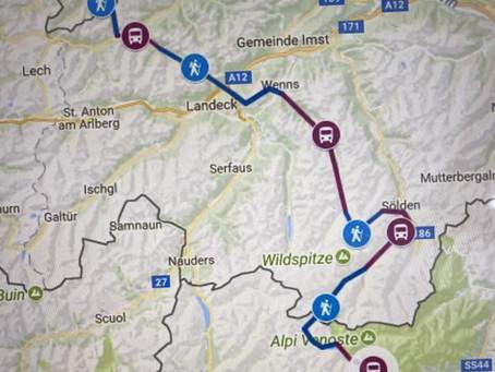 Alpenüberquerung Oberstdorf - Meran 2019