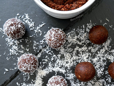 Chocolate Nut Butter Protein Bliss Balls