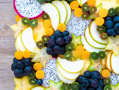 Fruit Platter (Campbell Early & Kiwi Berries)