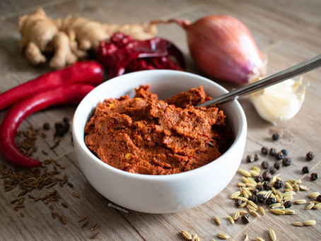 Spicy Curry Paste (tangy version)