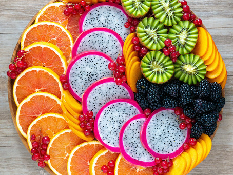 Fruit Platter (Cara Cara & Persimmons)