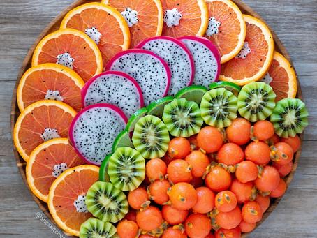 Fruit Platter (Papaya & Passion Fruit)