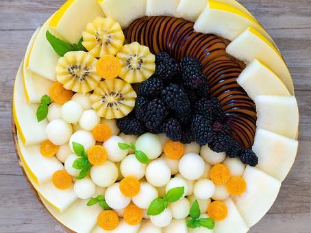 Fruit Platter (Golden Honeydew)