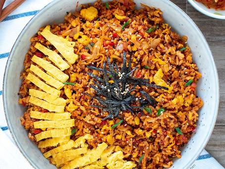Kimchi Fried Rice & Quinoa