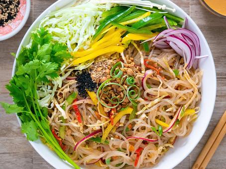 Winter Noodle Salad