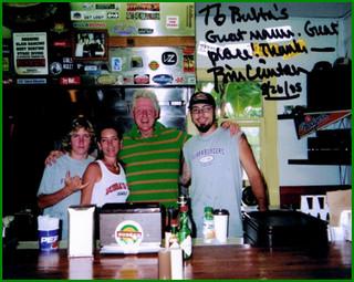 "Bill ""Bubba"" Clinton"