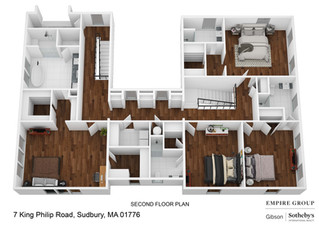 Floor Plans for King Philip