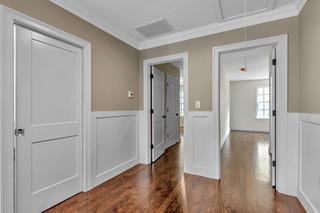 Hallways interior finish