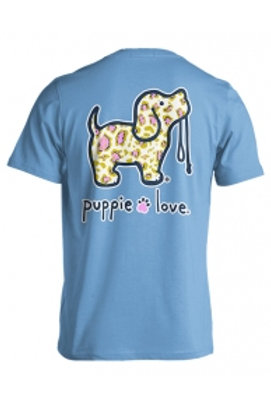 PUPPIE LOVE - PINK GOLD LEOPARD PUP