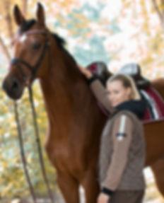 Copper Kiss, HKM, Lookbook,Pferdemode