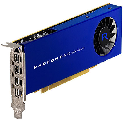 AMD Radeon Pro Serie WX Graphics Card (4 x Mini DisplayPort)