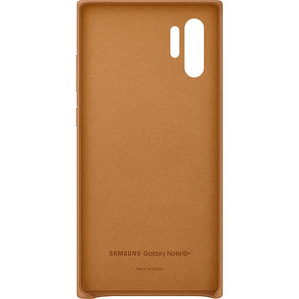 Samsung Galaxy Note10+ Plus Leather Back Cover