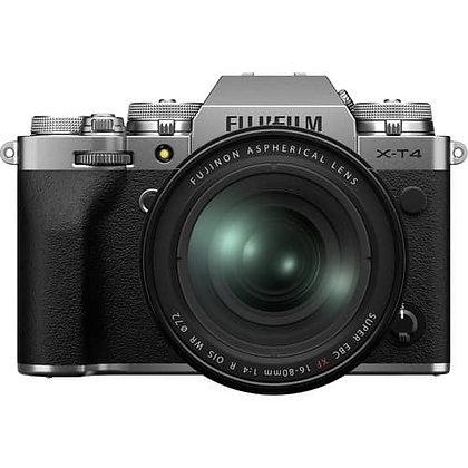 FUJIFILM X-T4 Mirrorless Digital Camera with 16-80mm Lens