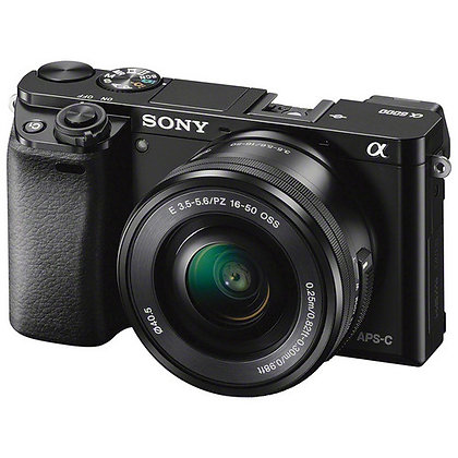Sony Alpha a6000 Mirrorless with 16-50mm Lens (Black)