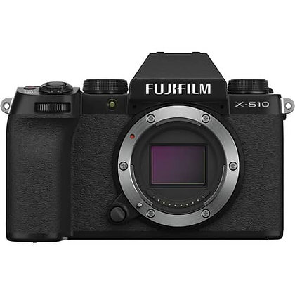 FUJIFILM X-S10 Mirrorless Digital Camera (Body Only)