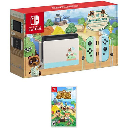 Nintendo Switch Animal Crossing: New Horizons Edition + Juego Animal Crossing