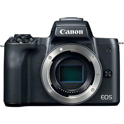 Canon EOS M50 Mirrorless Digital Camera (Body Only Black)